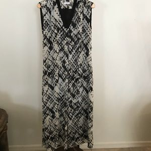 Vince silk maxi dress size Small